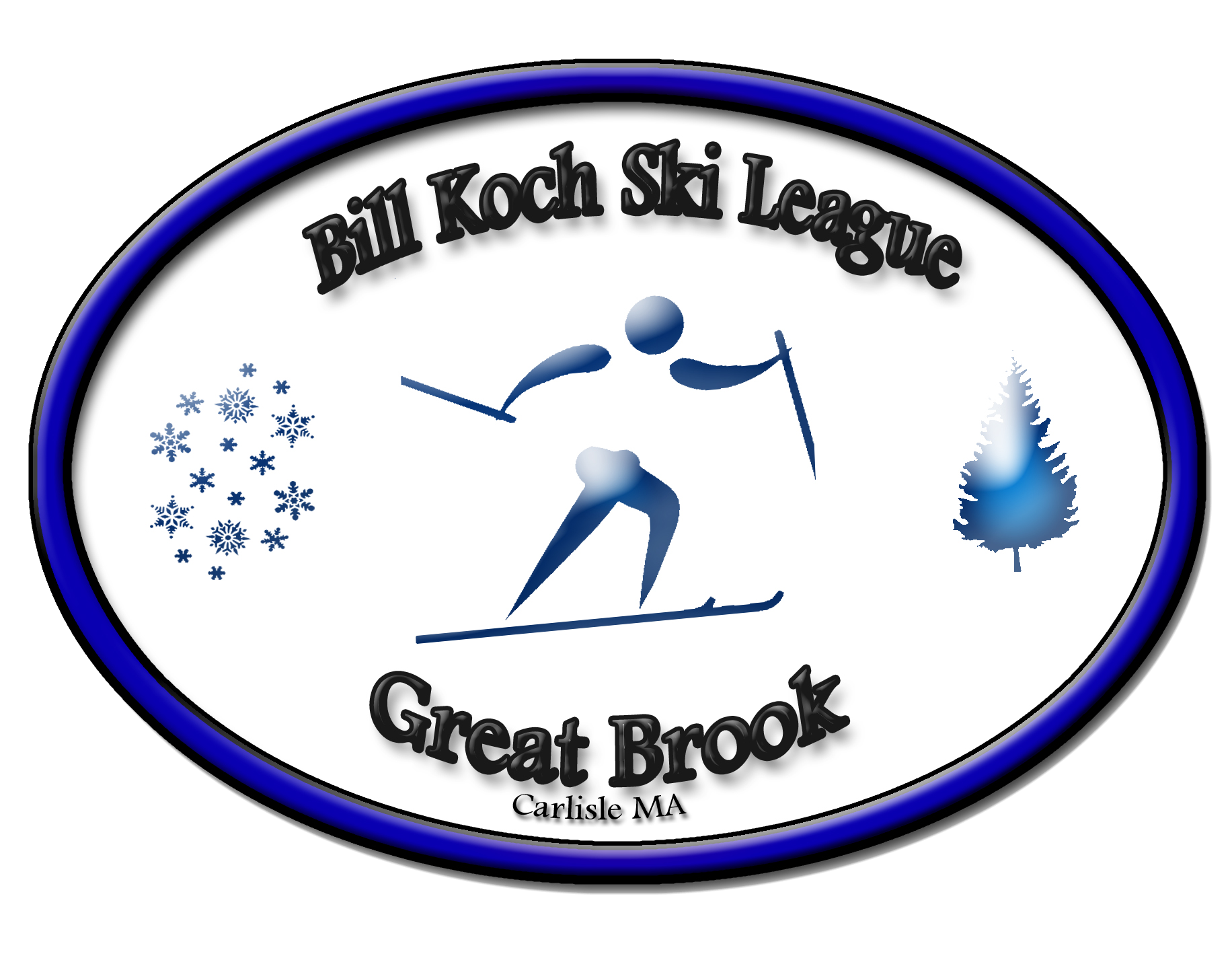 Great Brook Bill Koch Ski League logo